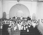 A. A. Allen Leading a Worship Service
