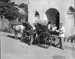 A. A. Allen With a Horse and Buggy