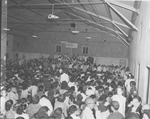 Crowd at an Indoor Service