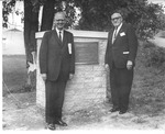 Dedication of Broadhurst Drive, Frank Stanger and William Broadhurst, Commencement, 1964