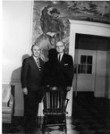 Maldwyn Lloyd Edwards and Frank Stanger, 1966 Ministers Conference