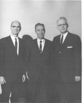 Paul Rees, Gerald Kennedy, Frank Stanger, Ministers Conference, January 1965