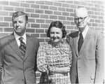 Sam and Hazel Franklin with Frank Stanger, October, 1974