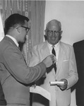 Dedication of President's Home 1967 - David Edwards and C I Armstrong