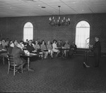 Dedication service of the Judge Francis Stanger Prayer Room Oct 1971 at the Sherman Thomas Student Center