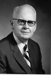 President Stanger portrait, 1975 (older)