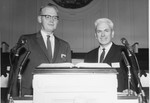 Stanger and Norman Paullin at the 1962 Ministers Conference