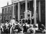 Presidential Inauguration of Frank Stanger outside the Administration Building
