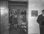 Dedication of the Judge Francis Stanger Prayer Room, Oct 1971