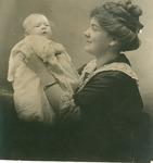 Frank Bateman Stanger as a baby