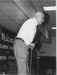 J. C. McPheeters demonstrating the Exer-Genie at the Development Association for Christian Institutions (DACI) meeting, 1979 3of8
