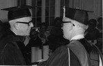 C I Armstrong and Stanger at Commencement