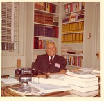 J. C. McPheeters in his office