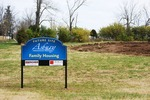 Kalas village Groundbreaking:  sign