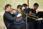 Kalas Village Groundbreaking:  brass