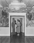Henry Clay Morrison Administration Building - couple in lobby