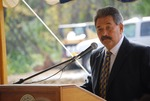 Kalas village Groundbreaking:  Rainwater Speaking
