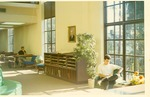 B. L. Fisher Library Students Reading