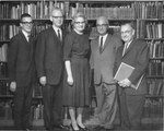 B. L. Fisher Library Dedication October 10 1967