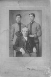H.C. Morrison with 2 of his sons