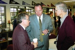 Jeff Greenway and Steve Harper speaking to an unidentified man (3)