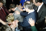 Laying of hands on Jeff and Beth Greenway by Asbury Florida Staff and Faculty (2)