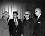 Ministers Conference - Paul Reese, Frank Stanger with 2 unidentified men
