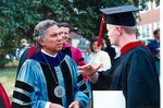 Asbury Seminary Graduation Ceremony 1988 - David McKenna with Kevin Thompson