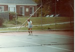 David McKenna playing tennis