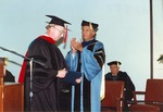 David McKenna presiding over the Asbury Seminary Graduation Ceremony
