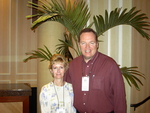 Jeff and Beth Greenway  at the 2004 President's Retreat in Florida
