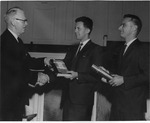 Frank Stanger, David Thompson and Ronald G. Allison, May 1967