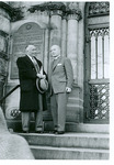 J. C. McPheeters with Edward L. R. Elson at the National Presbyterian Church