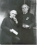 H. C. Morrison with unidentified man
