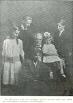 H. C. Morrison with his children from his second marriage soon after Geneva Morrison had passed away