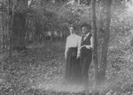 H. C. Morrison and Geneva Pedlar Morrison at Revival Camp, Texas, circa 1896