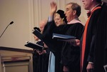 Inauguration of President Timothy Tennent - Dr. Bill Goold Leading Singing