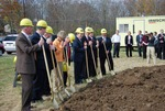 Kalas Village Groundbreaking:  Breaking Ground
