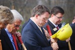 Kalas Village Groundbreaking:  Prayer