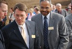 Kalas Village Groundbreaking:  Tennent and Harris
