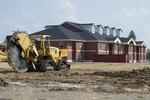 Single Dorm Construction - North View