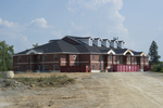 Single Dorm Construction - North View