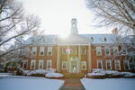 Admin Building - Snowy Front Shot by Asbury Theological Seminary Communications
