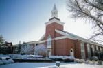 Estes Chapel - Snowy South Shot
