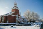 Estes Chapel - Snowy North Shot