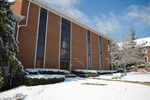 Stanger Hall - Snowy Side Shot from Gillispie St.