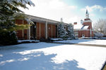 Snowy Library and Estes Chapel