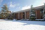 Snowy Library - Corner Shot