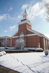 Estes Chapel - Snowy Corner Shot