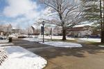 Snowy Courtyard - Ground Level